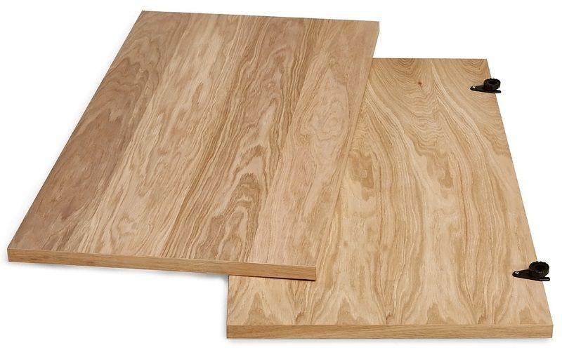 Woodman - Jugend Spisebord Tillægsplade - Lys træ