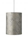 Ebb&Flow - Lampeskærm, fern leaves wild, Sølv, Ø30