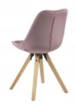 Fryd Spisebordsstol i støvet rosa - Egebejdset