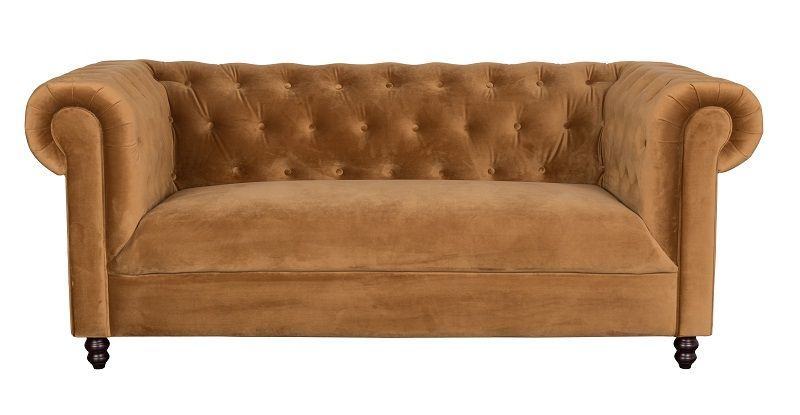 Dutchbone - Chester 2-pers. Sofa - Gylden Brun