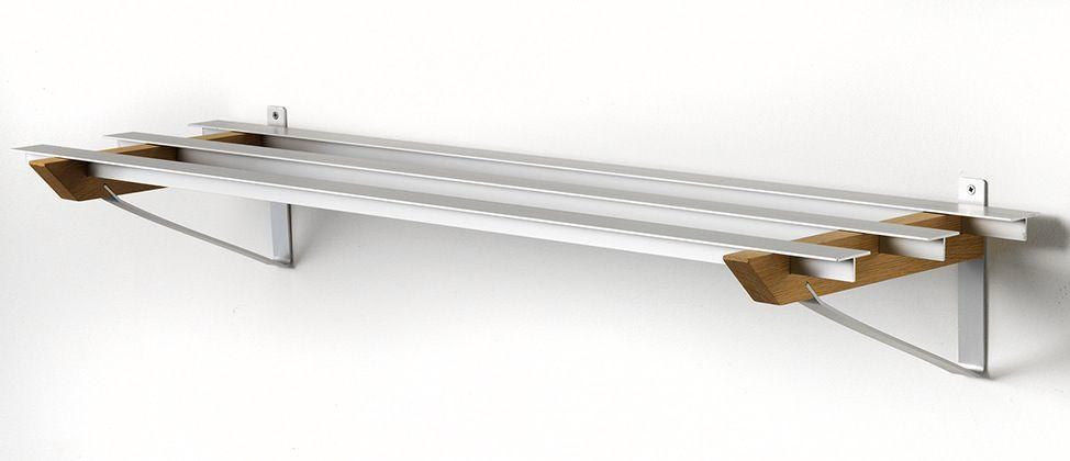 Hoigaard - SR2 Milano Skohylde - sæbebehandlet eg - 68cm