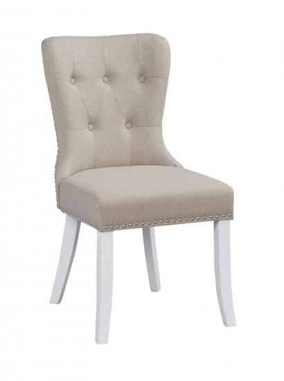 Adele Spisebordsstol - beige stof