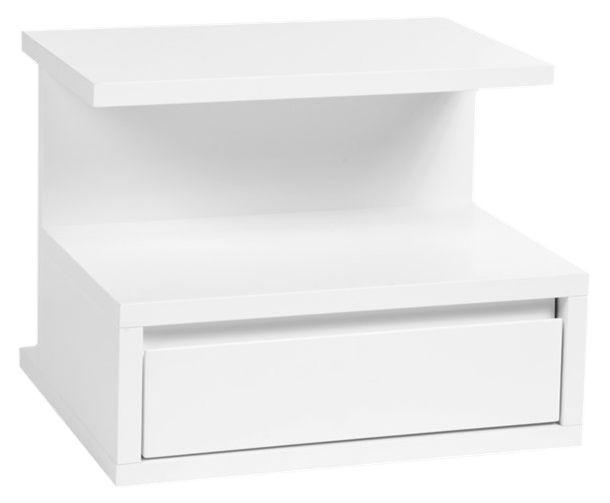 Valencia Sengebord - Sengebord/hylde fra Mavis i  hvid