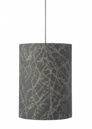 Ebb&Flow - Lampeskærm, branches, grå/Sølv, Ø30