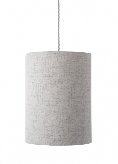 Ebb&Flow - Lampeskærm, Sølv marl, Ø30