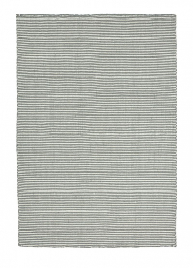 Linie Design Ajo lys blå uld tæppe - 200x300 - Lyseblåt tæppe i uld