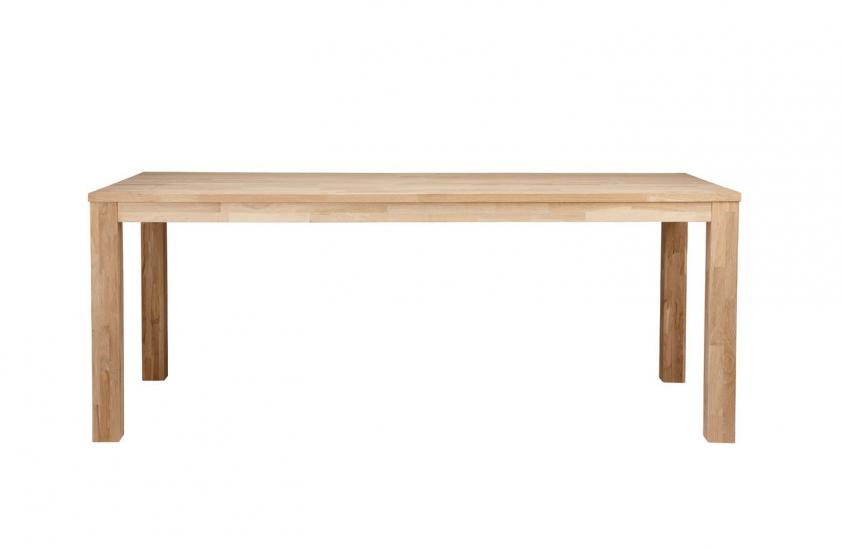 Woood - Largo Spisebord - Ubehandlet Eg - 230x90 - FSC® certificeret træ