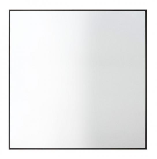 by Lassen - View Spejl 70x70 - Sort - Spejl med sort ramme