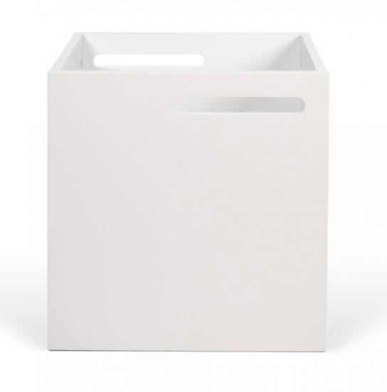 Temahome Berlin opbevaringsboks - Mat hvid