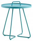 Cane-line On-the-move Sidebord - Aqua - Ø44