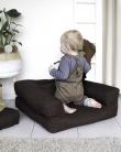 Mini Cube Børnestol, Mørkegrå