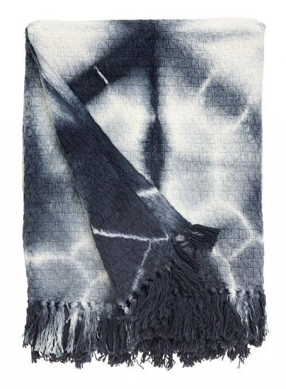 Nordal - Plaid 175x125 - Mørk blå