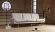 Kragelund Egsmark 3-pers. sofa Dark sand