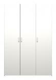 Space Garderobeskab - Hvid m/3 låger