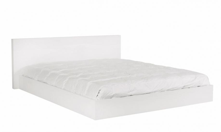 Temahome Float Sengeramme 160x200 - Mat hvid