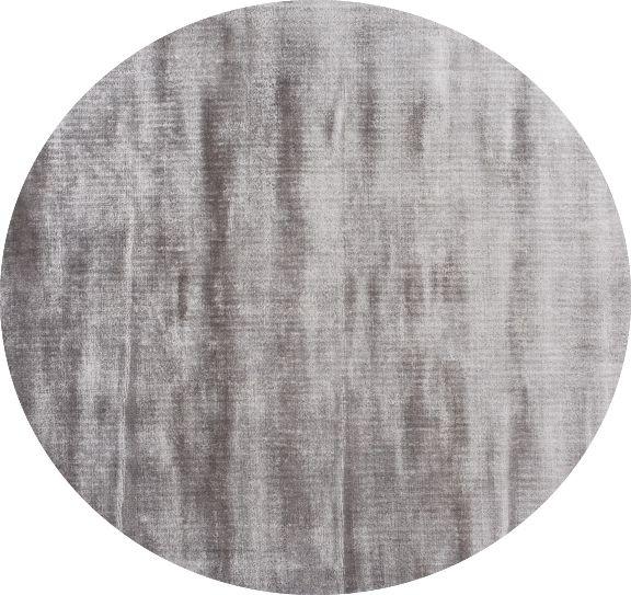 Linie Design Lucens Tæppe - Silver, Ø200