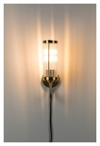 Angel on Fire Væglampe - Messing