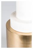 Chunky Footed Sidebord - Guld, Ø37