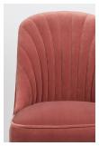 Give me more Velvet Spisebordsstol - Pink