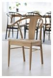 Janik Spisebordsstol i hvidolieret eg