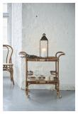 Sika-Design Carlo Barbord m/hjul - Antique