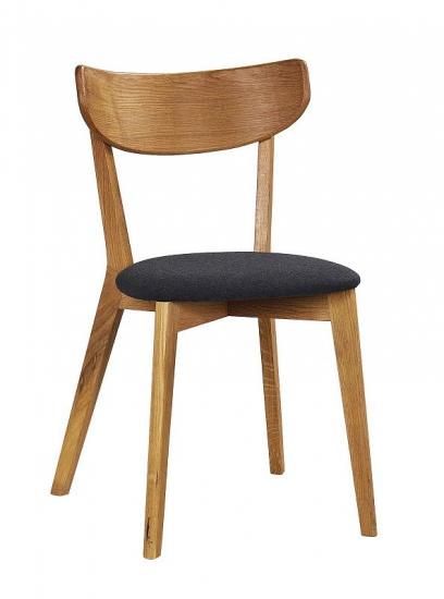 Ami Spisebordsstol - Eg, Gråt stofsæde
