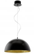 Gaetano LED Pendel Sort - Ø53 - Rund sort pendel - Ø53 cm