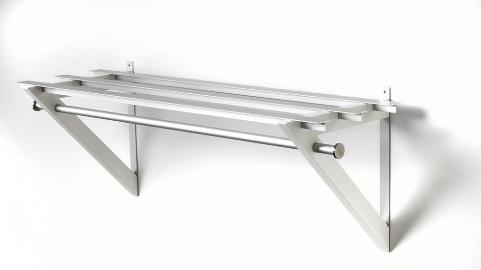 Hoigaard - HH-6 Milano Hattehylde - hvid - 68 cm