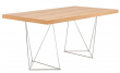 Multi Skrivebord - 180 cm - Skrivebord i eg