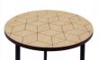 Woodman - Arty Triangle Sofabord Ø50xH45 - Egefiner