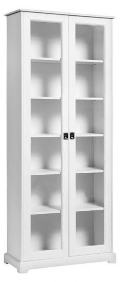 Mavis - Smögen Vitrineskab H190 - Hvid - Vitrineskab fra Mavis i hvid
