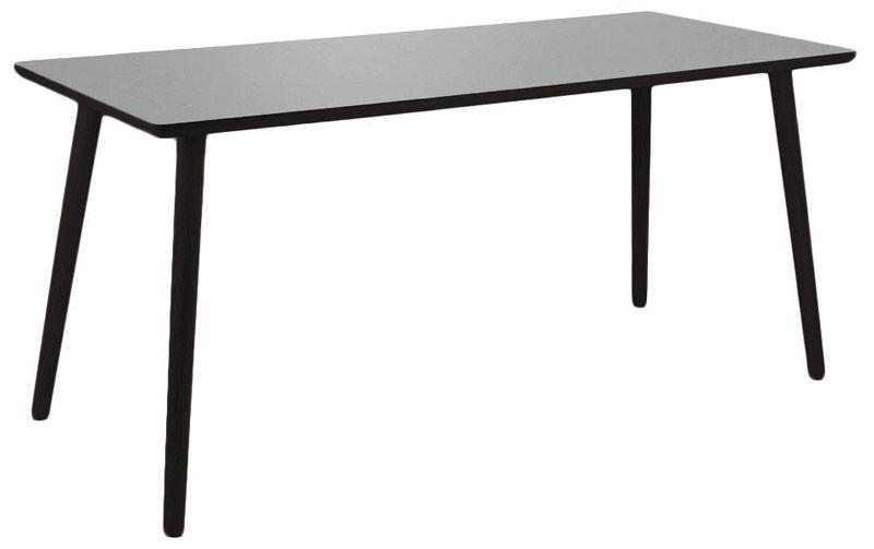 Furnliving Fog Skrivebord 120x75 - Grå - Gråt skrivebord med sorte ben