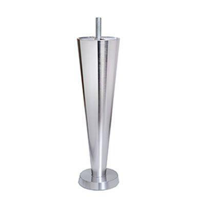 Champagneben i krom - 23 cm - Ekstra høje ben i krom