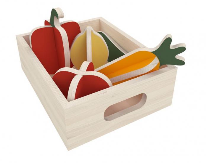 FLEXA Toys - Grøntsager