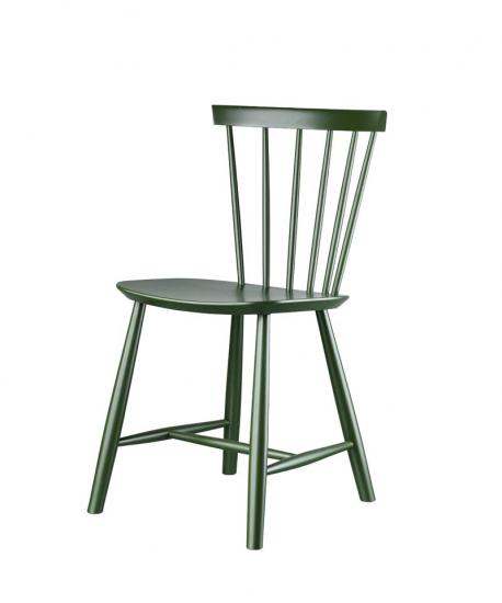 FDB Møbler - J46 Spisebordsstol - Flaskegrøn