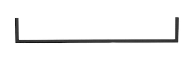 by Lassen - Frame Rail 35 double - Sort - Sort bøjlestang