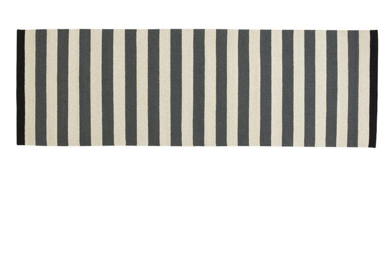 Fabula Nigella løber - Håndvævet Kelim 90 x 250 cm