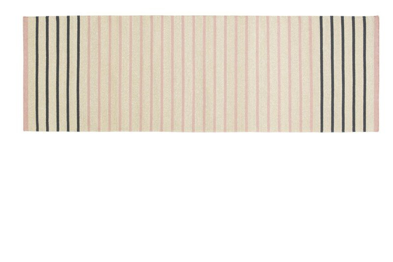 Fabula Living - Poppy  Beige Løber - 80x240 - Håndvævet Kelim 80 x 240 cm