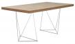 Temahome - Multi Skrivebord - Valnød 160 cm - Skrivebord med valnøddefinér