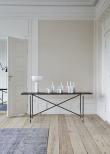 HANDVÄRK - Konsolbord 184x46 - Sort Marmor, sort