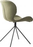Zuiver OMG Spisebordsstol - Grøn stof