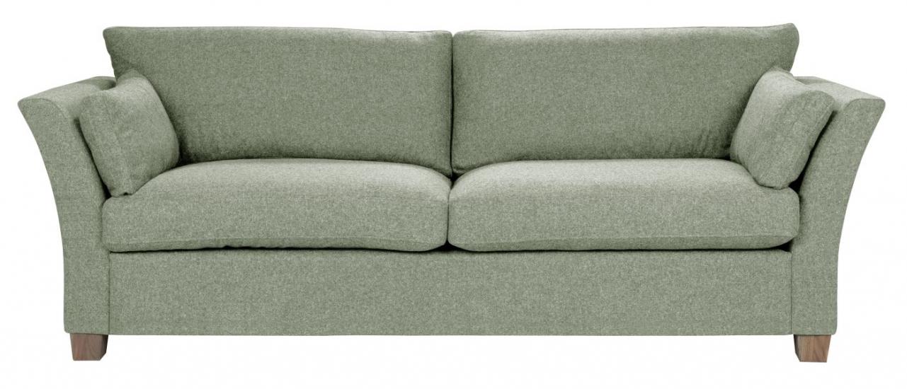 Milton 3-pers. Sofa - lys grøn Uld