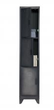 Woood - Cas metal locker m. 3 døre