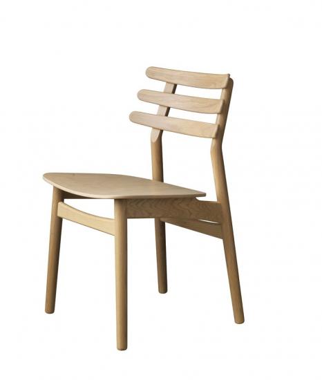FDB Møbler - J48 Spisebordsstol - Eg/finér