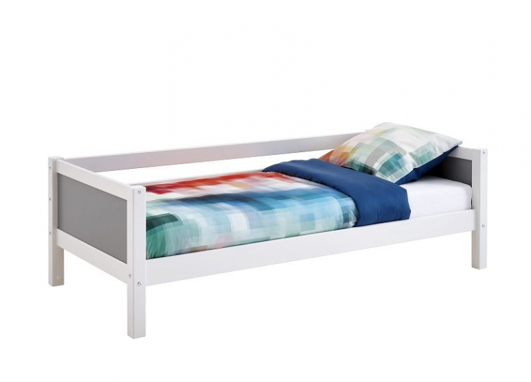 FLEXA Nordic Color Sofaseng 90x200 - Hvid/Grå