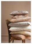 Cozy living Olivia Pude, Sandstone, 50x50
