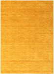 Skagen Håndvævet Tæppe - Mustard Gul - 140x200