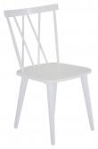 Mariannelund Spisebordsstol, Hvid