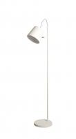 Zuiver - Buckle Head Gulvlampe - Hvid - Hvid gulvlampe i metal