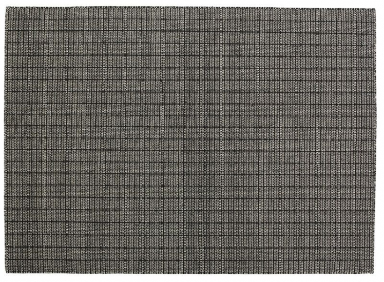 Fabula Living - Tanne Sort Kelim - 140x200 - Håndvævet Kelim 140x200 cm